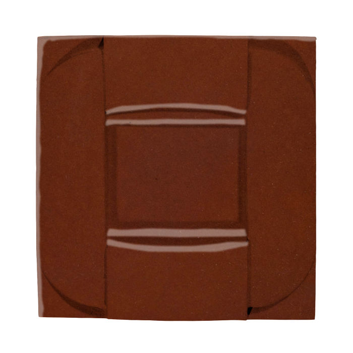 6x6 Ceramic Buckle Mocha 7581c