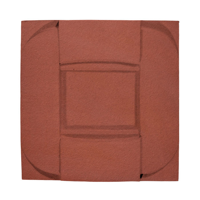 6x6 Ceramic Buckle Monrovia Red