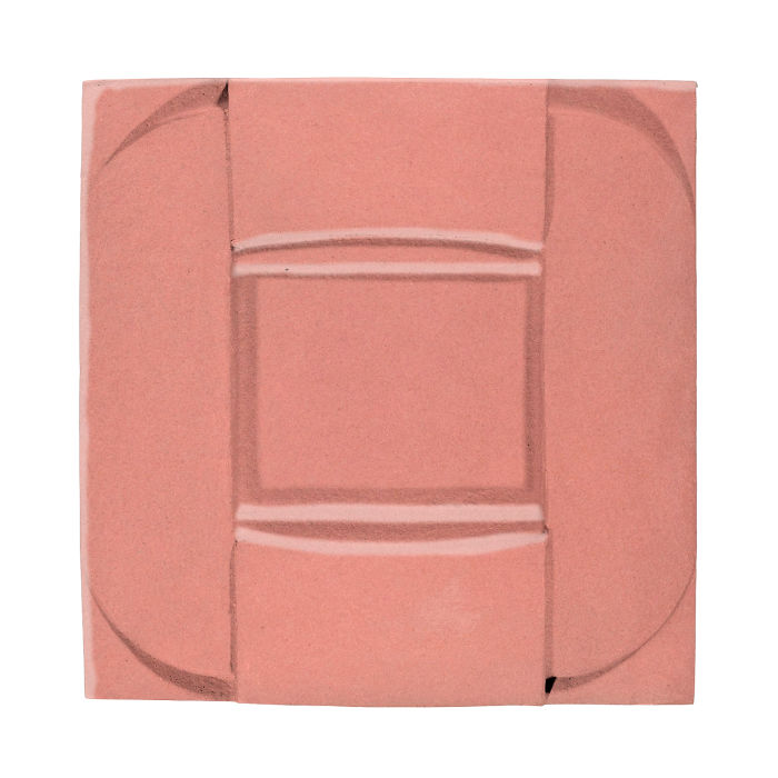 6x6 Ceramic Buckle Peach Pie