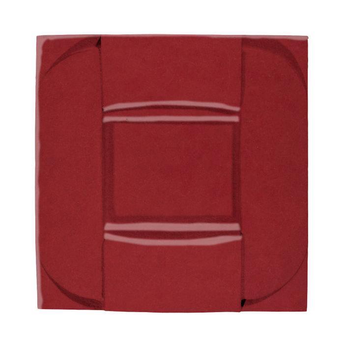 6x6 Ceramic Buckle Pinot Noir 7642c