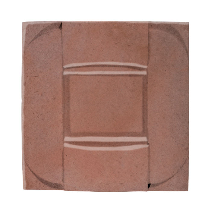 6x6 Ceramic Buckle Plum 5115c