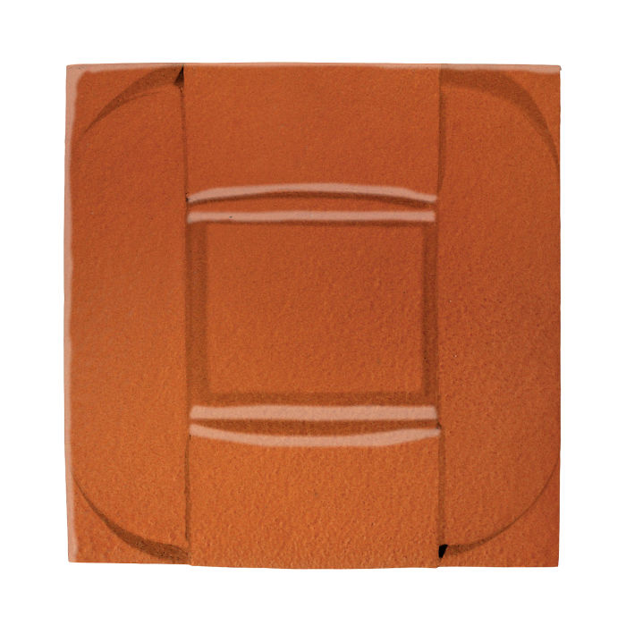 6x6 Ceramic Buckle Spanish Brown
