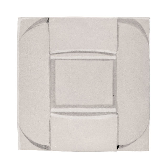 6x6 Ceramic Buckle Pure White