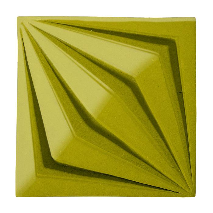 6x6 Ceramic Compass Star Guacamole 7495c