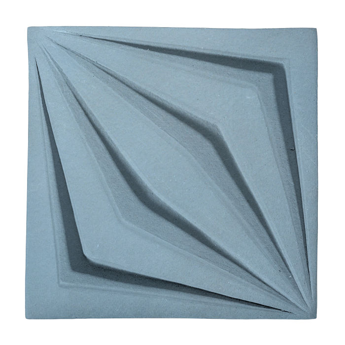 6x6 Ceramic Compass Star Turquoise