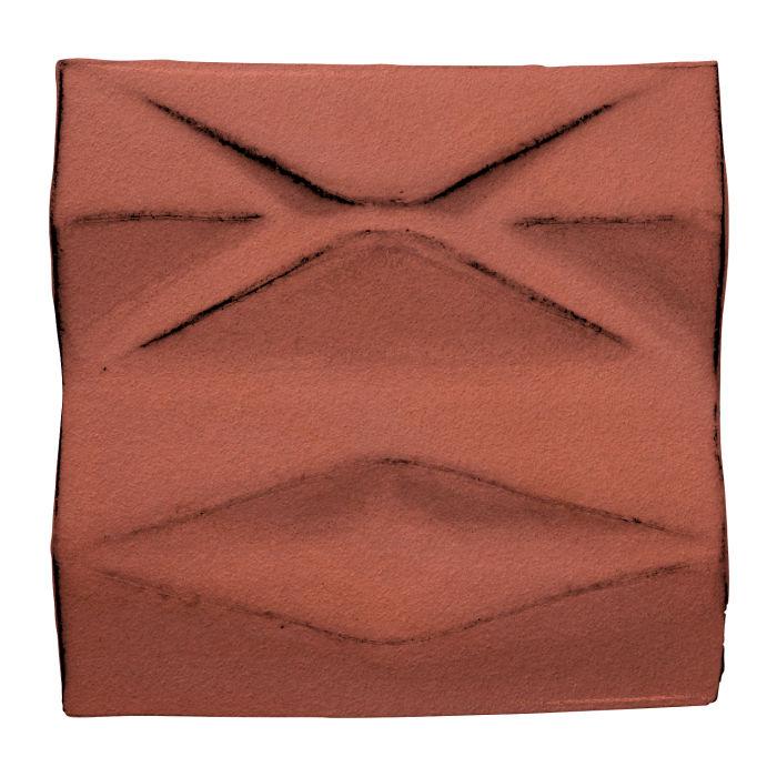 6x6 Ceramic Compton Monrovia Red
