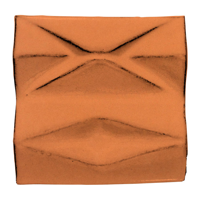 6x6 Ceramic Compton Pottery Brown 470u