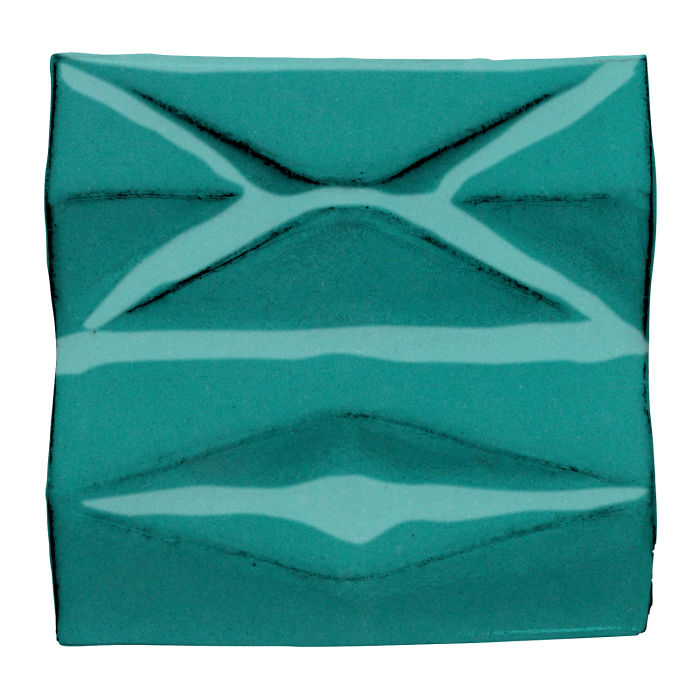 6x6 Ceramic Compton Real Teal 5483c