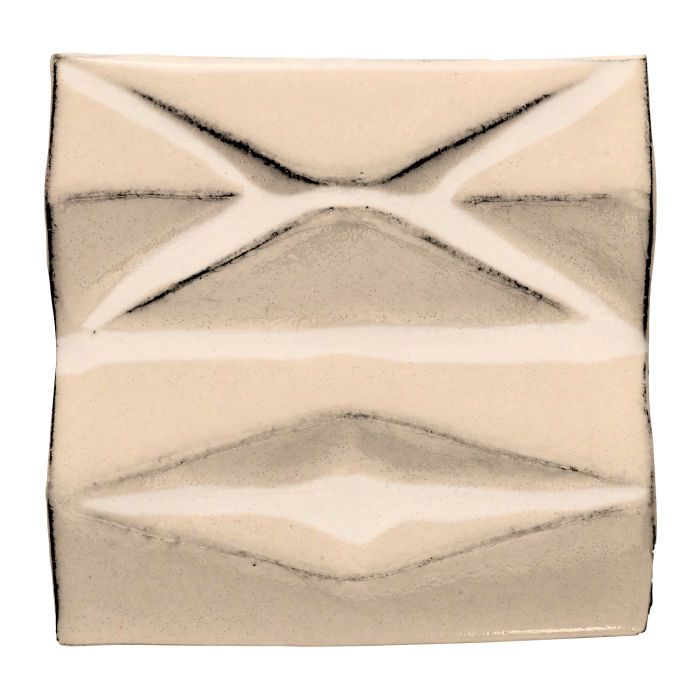6x6 Ceramic Compton White Bread 7506c