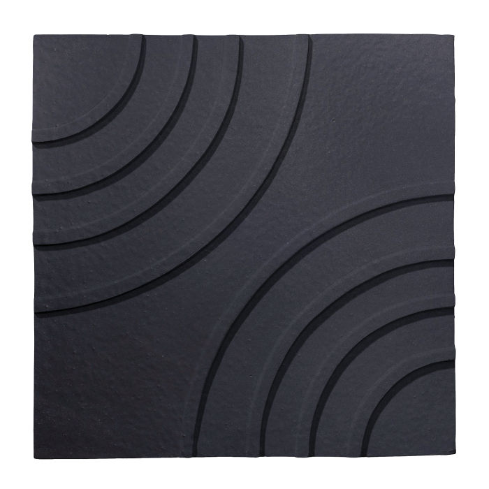 6x6 Ceramic Target Tile Black Diamond