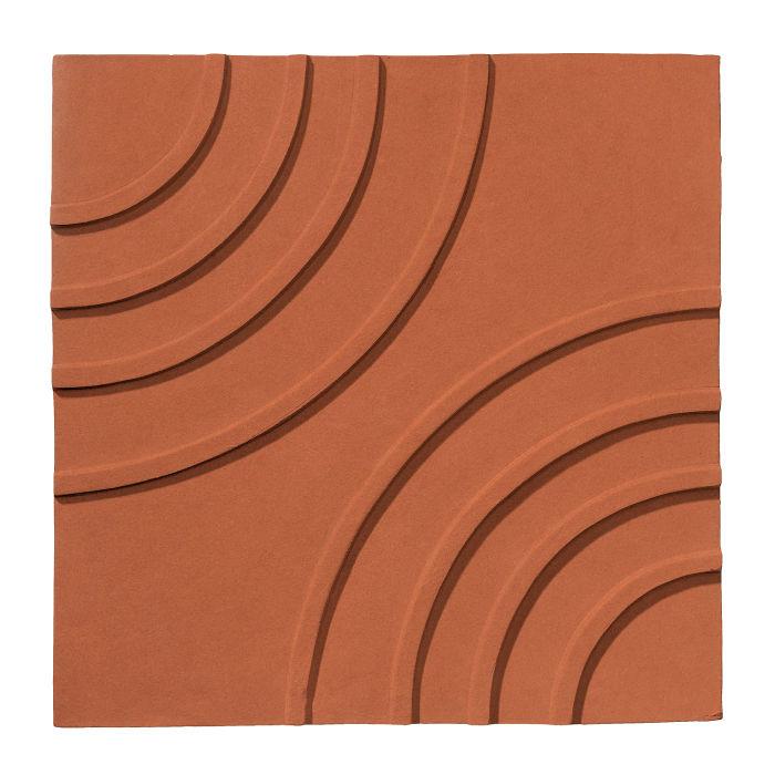 6x6 Ceramic Target Tile Chocolate Bar 175u