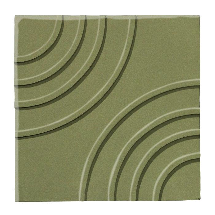 6x6 Ceramic Target Tile Kelp 5615c