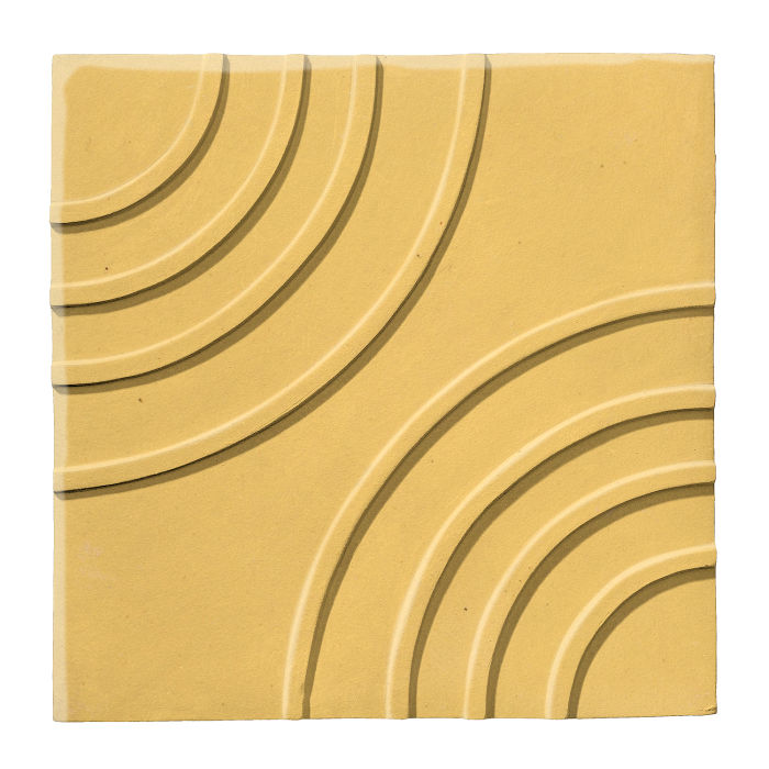 6x6 Ceramic Target Tile Lemon Scent