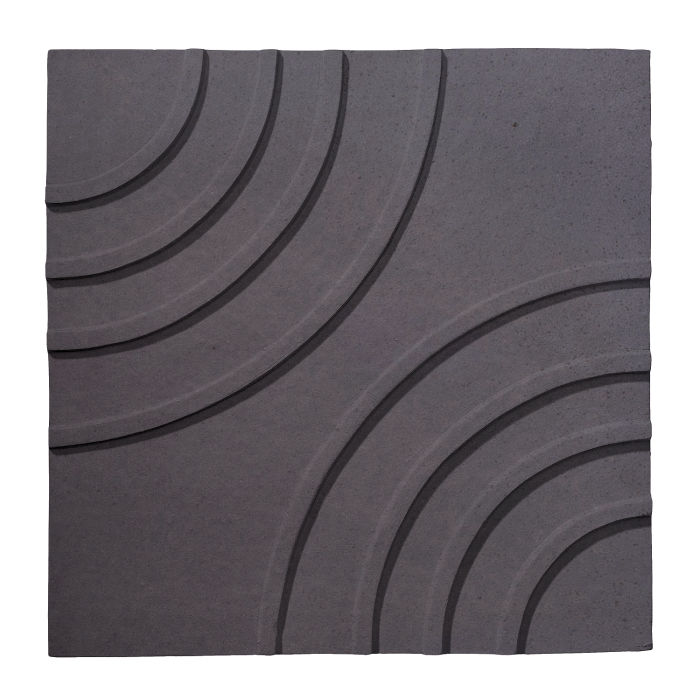 6x6 Ceramic Target Tile May Gray