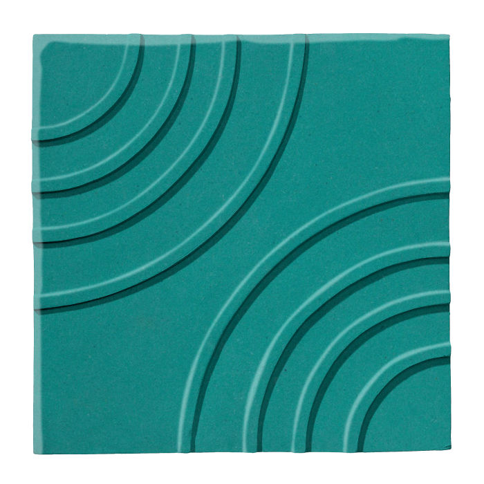 6x6 Ceramic Target Tile Real Teal 5483c
