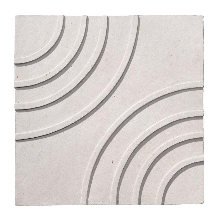 6x6 Ceramic Target Tile Sierra Snow