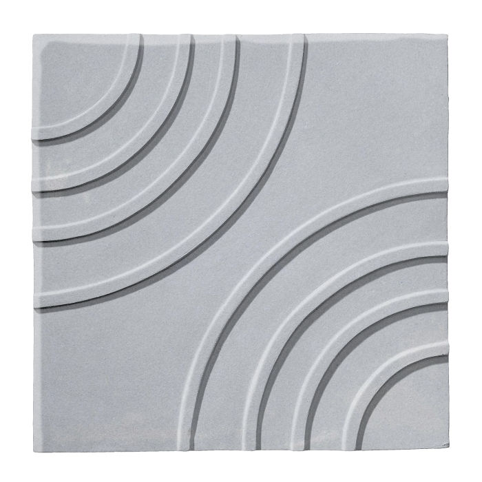 6x6 Ceramic Target Tile Silver Shadow