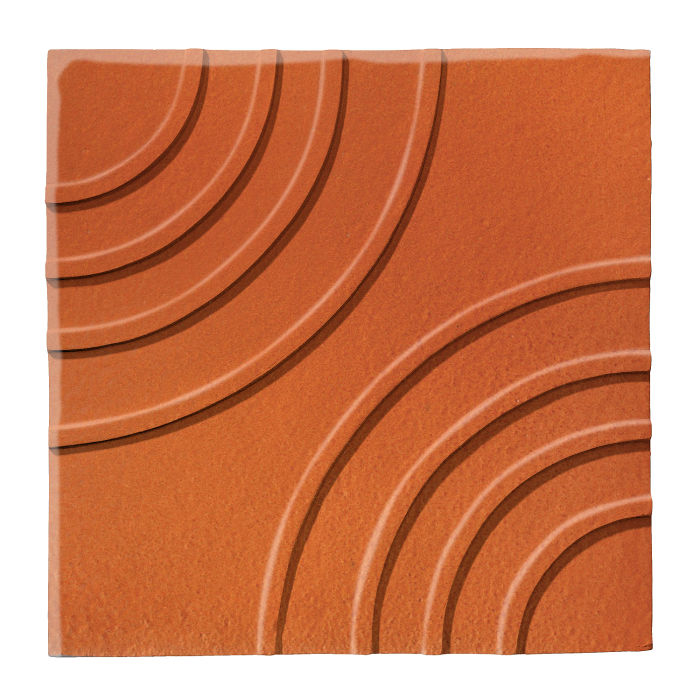6x6 Ceramic Target Tile Spanish Brown