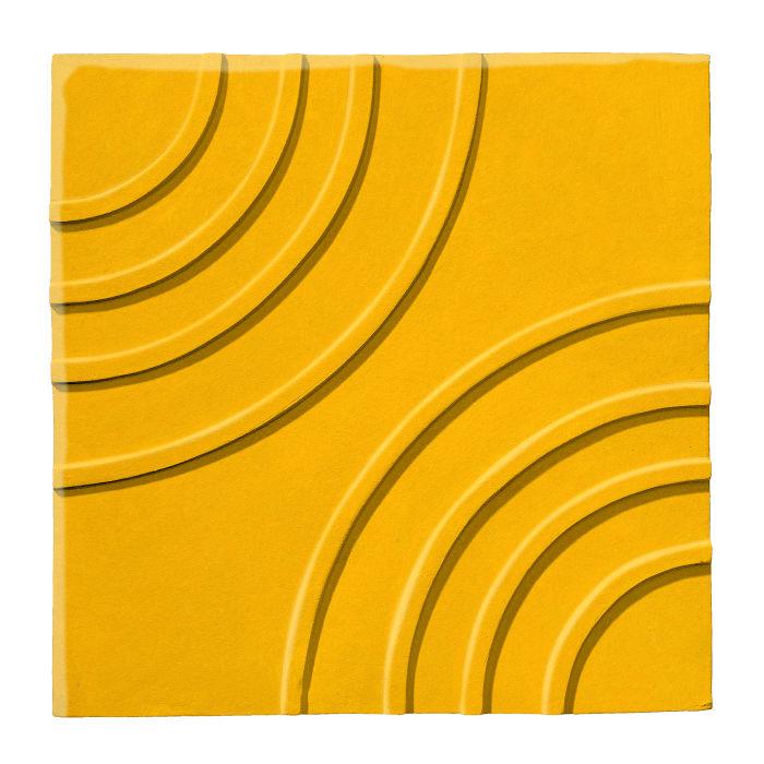 6x6 Ceramic Target Tile Sunflower 1225c