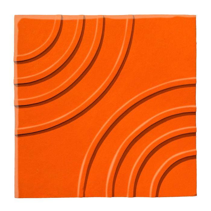 6x6 Ceramic Target Tile Sunset 1585c