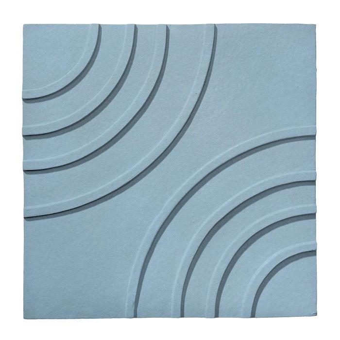 6x6 Ceramic Target Tile Turquoise