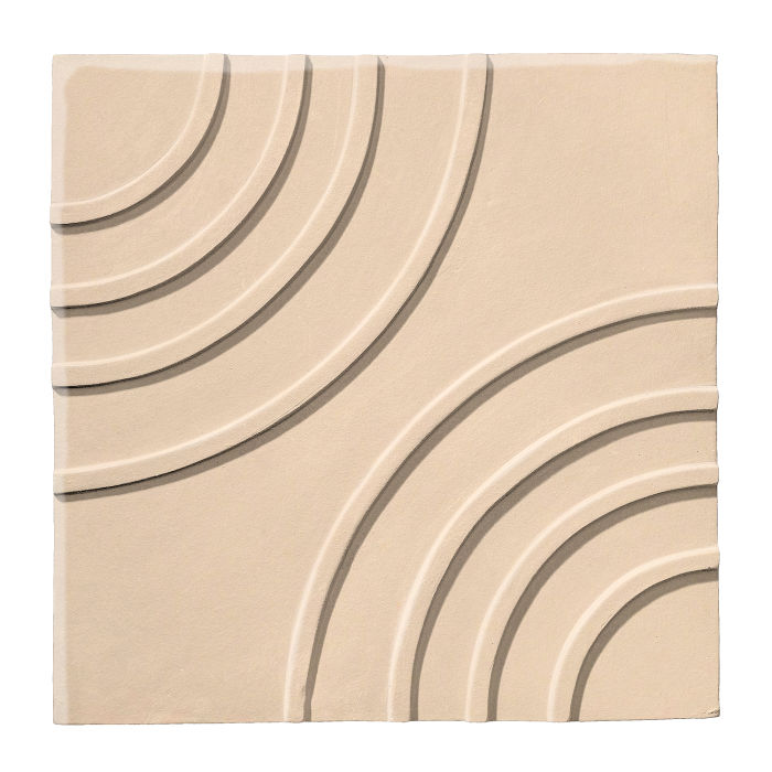 6x6 Ceramic Target Tile White Bread 7506c