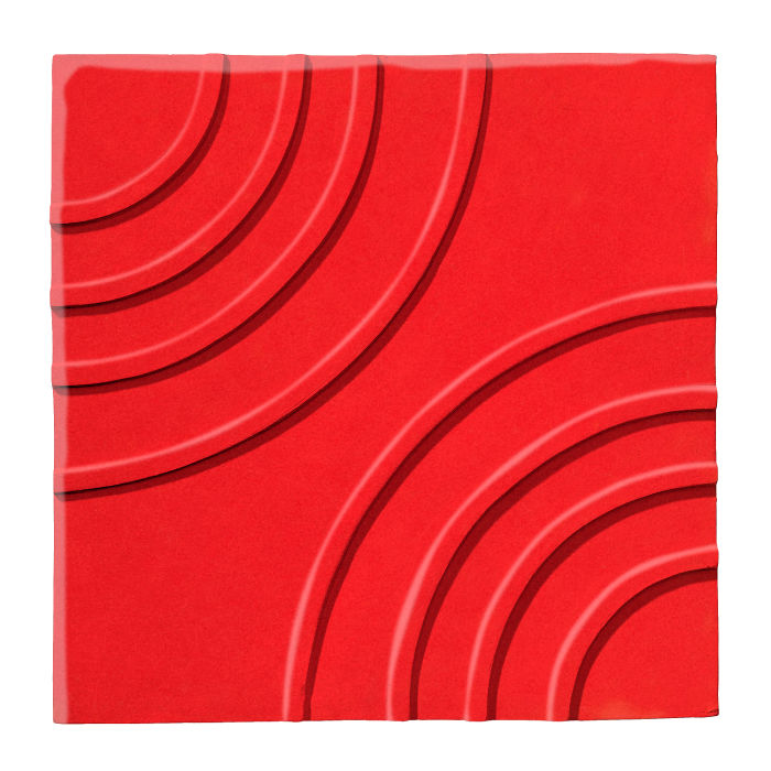 6x6 Ceramic Target Tile Watermelon 7619c