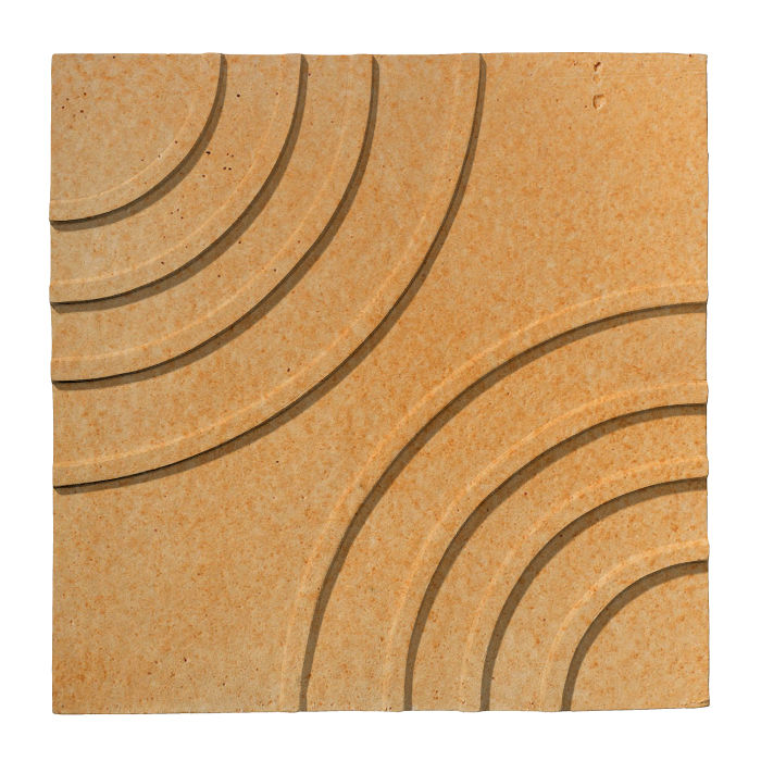 6x6 Ceramic Target Tile Yellowstone