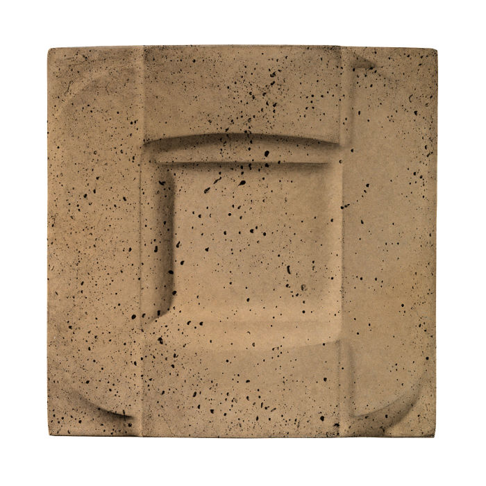6x6 Buckle Caqui Travertine