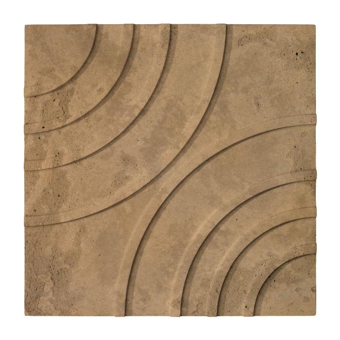 16x16 Target Tile Caqui Limestone