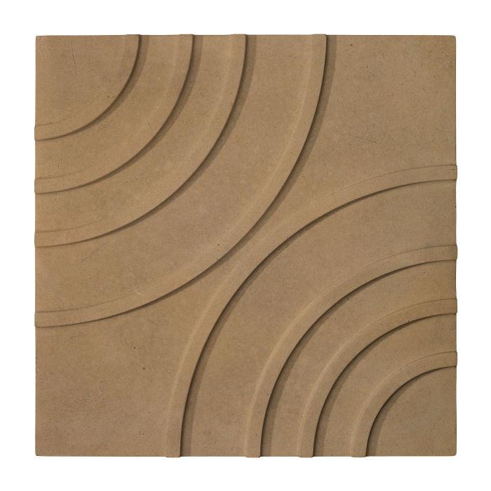 16x16 Target Tile Caqui