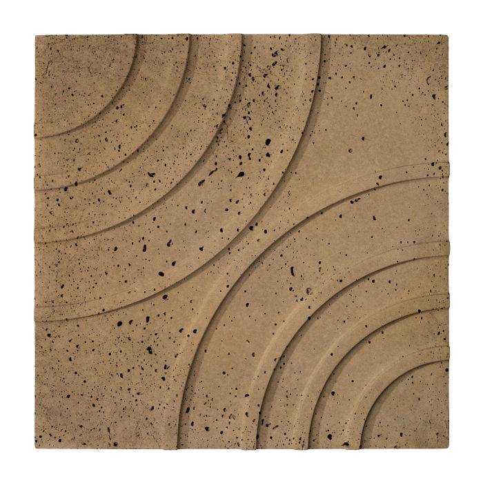 16x16 Target Tile Caqui Travertine