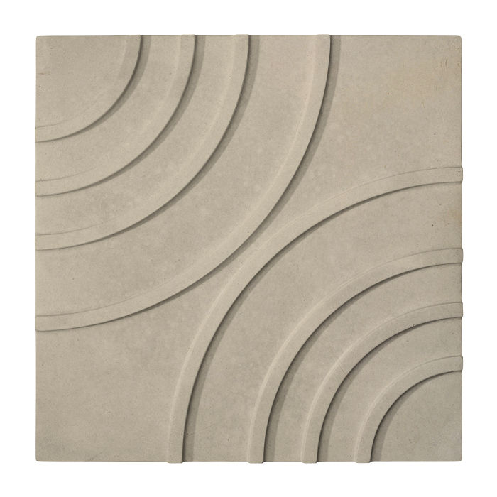 16x16 Target Tile Early Gray