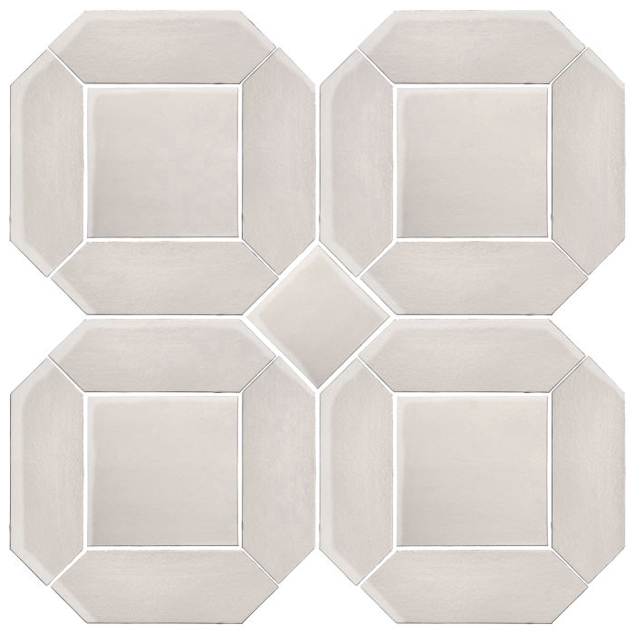 4x12 Monrovia Double Picket Set Pure White