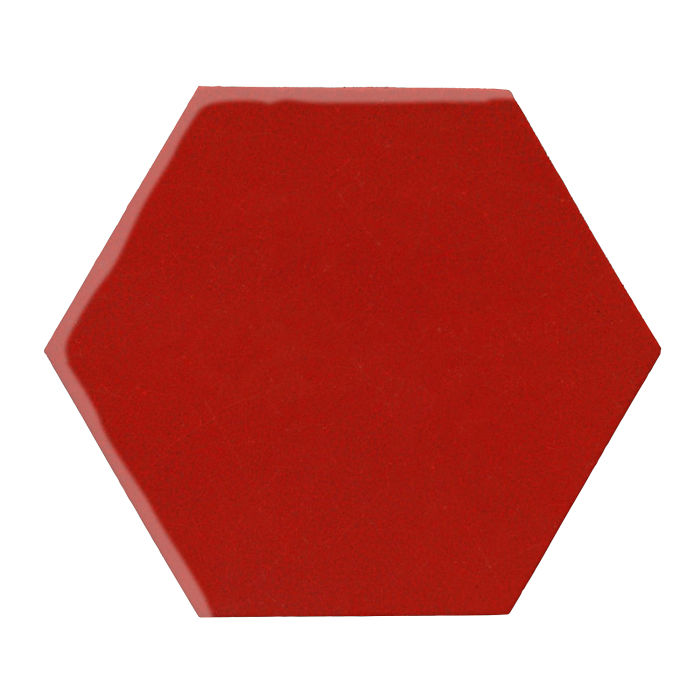12x12 Monrovia Hexagon Brick Red 7624c