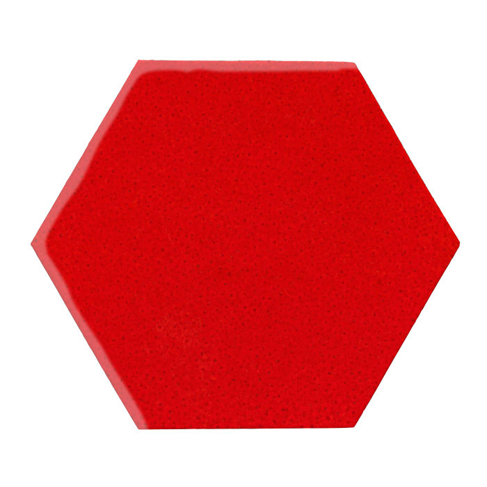 12x12 Monrovia Hexagon Cadmium Orange 7620c