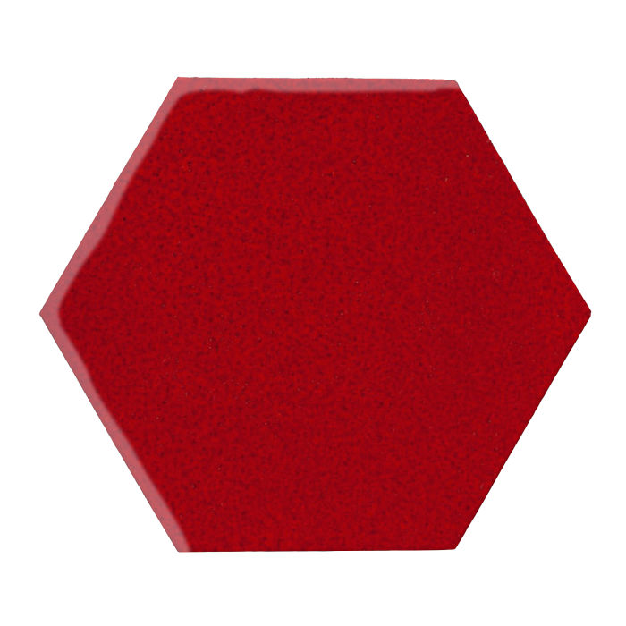 12x12 Monrovia Hexagon Cadmium Red 202c