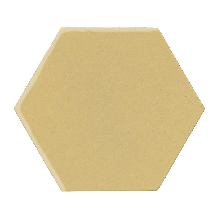 12x12 Monrovia Hexagon Egg Cream 0131c