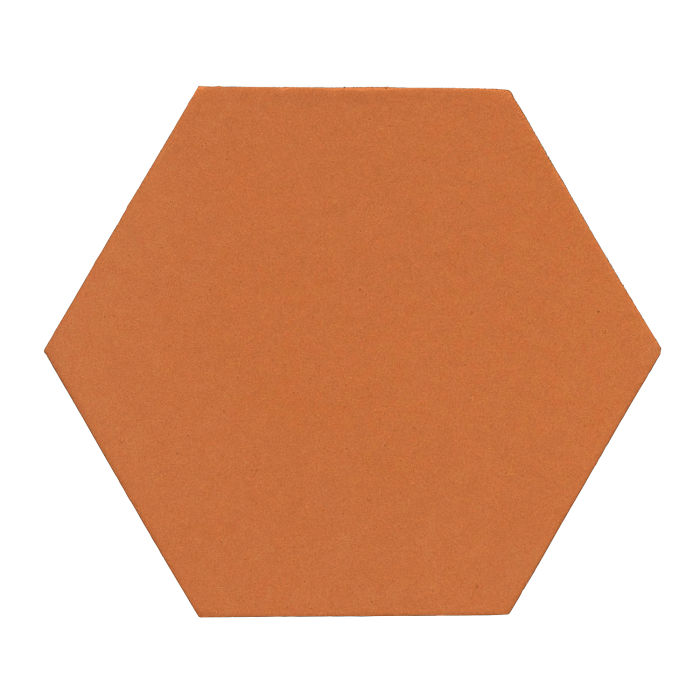 12x12 Monrovia Hexagon Pottery Brown 470u