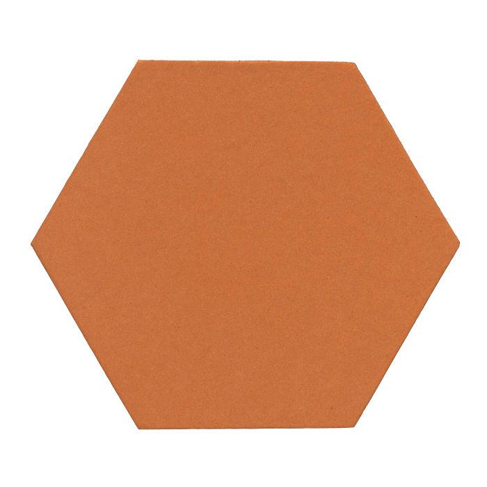 12x12 Monrovia Hexagon Pottery Brown 470u