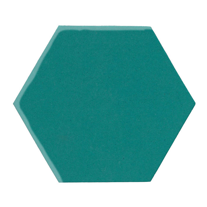 12x12 Monrovia Hexagon Real Teal 5483c