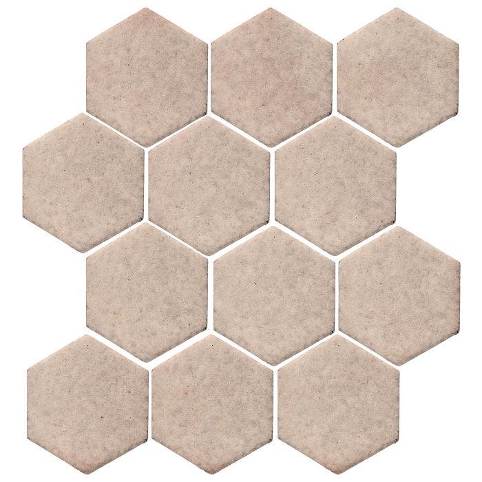 4x4 Monrovia Hexagon Alabaster CG1u