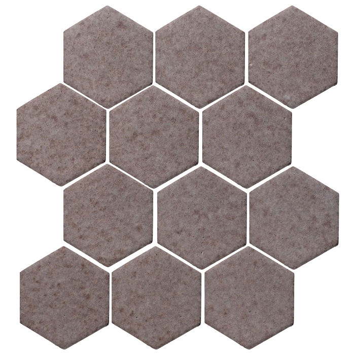 4x4 Monrovia Hexagon Ash