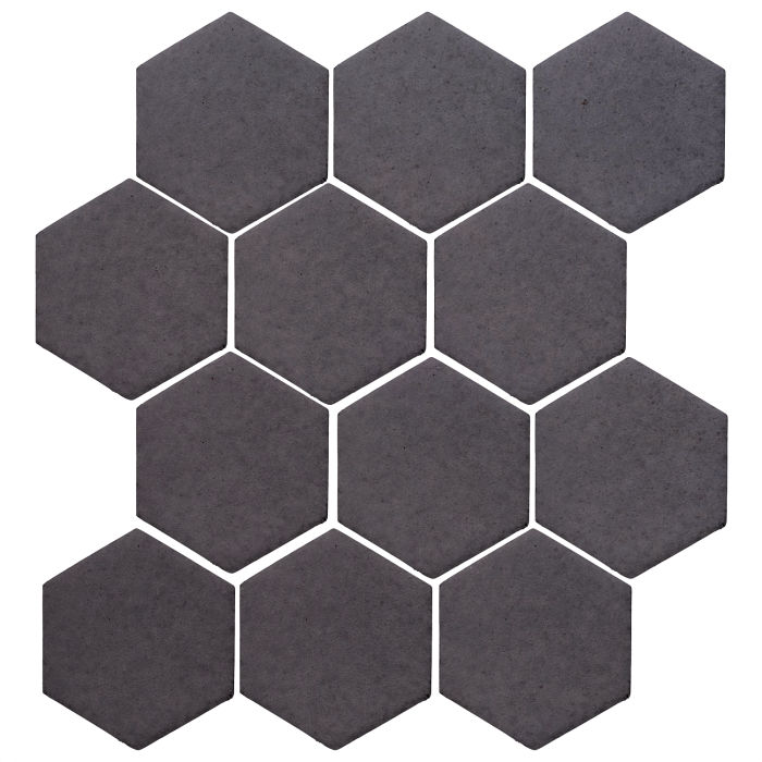 4x4 Monrovia Hexagon May Gray
