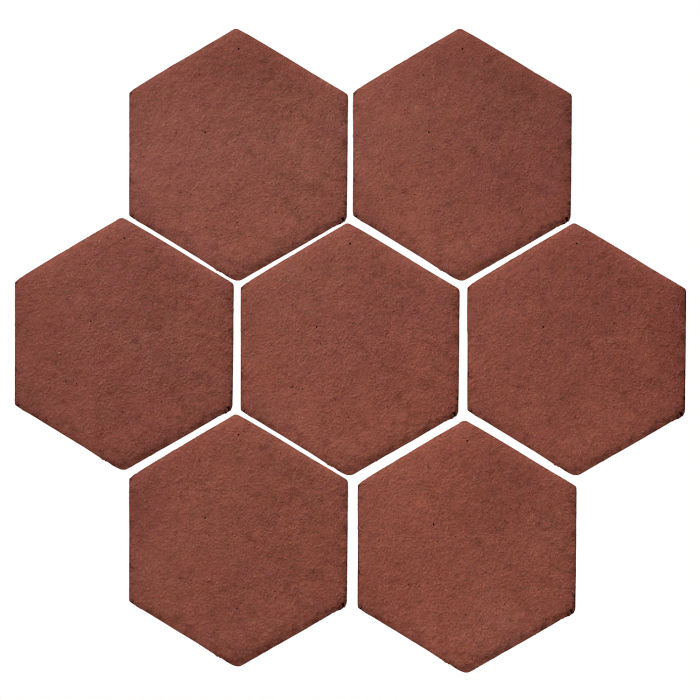 6x6 Monrovia Hexagon Braun