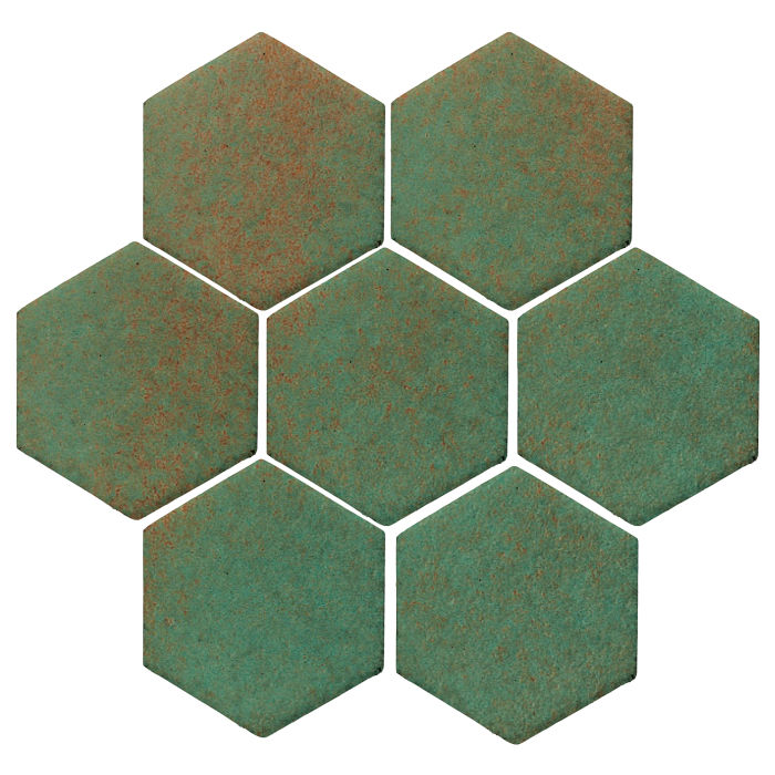 6x6 Monrovia Hexagon Copper