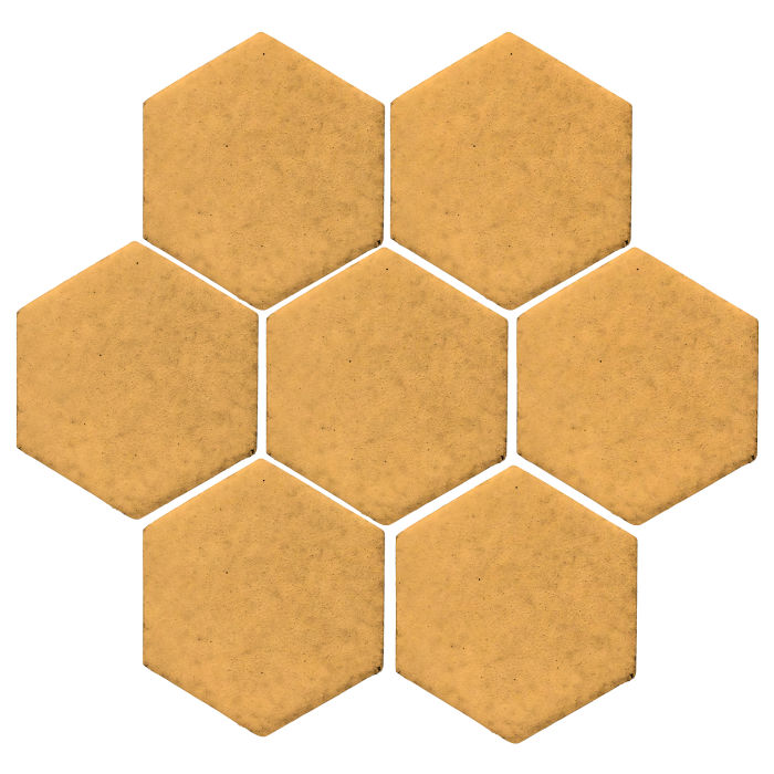 6x6 Monrovia Hexagon Custard 7403u