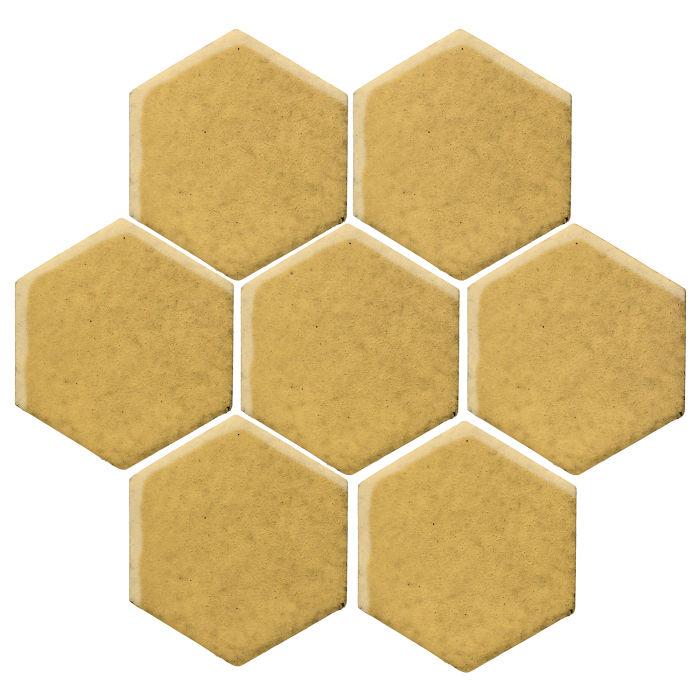 6x6 Monrovia Hexagon Gold Rush