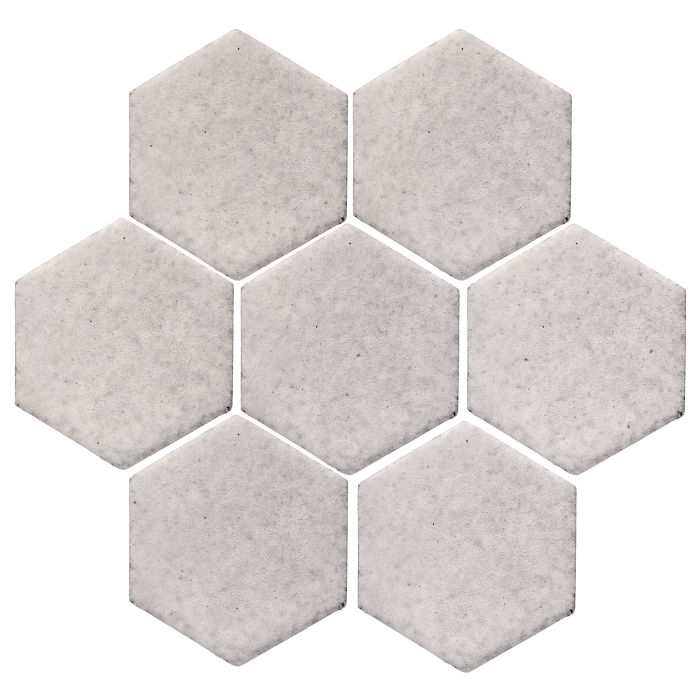 6x6 Monrovia Hexagon Great White