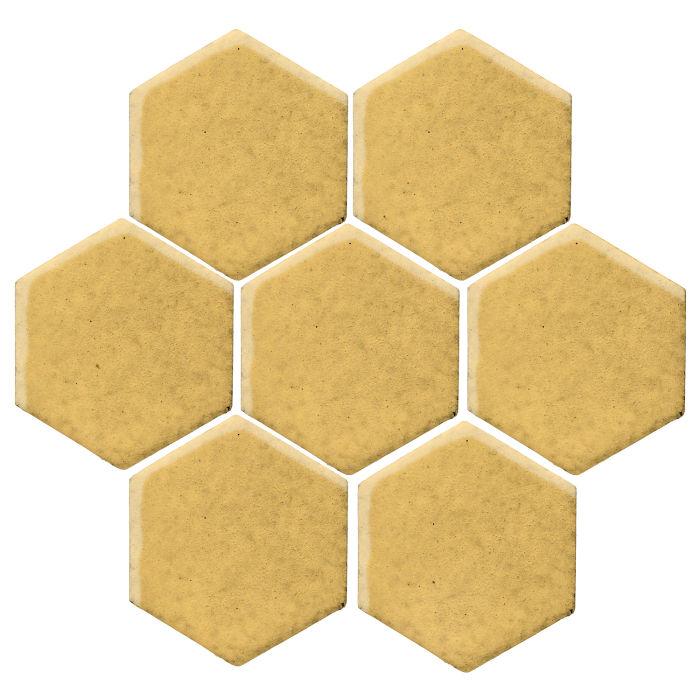 6x6 Monrovia Hexagon Lemon Scent
